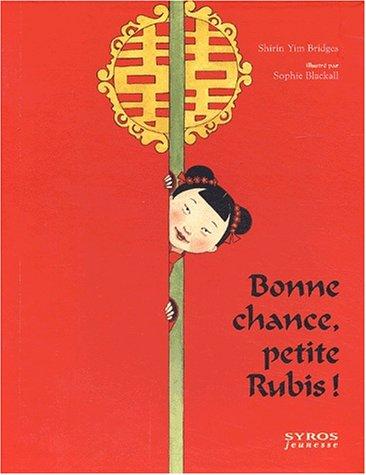 Livre anime – bonne chance petite rubis