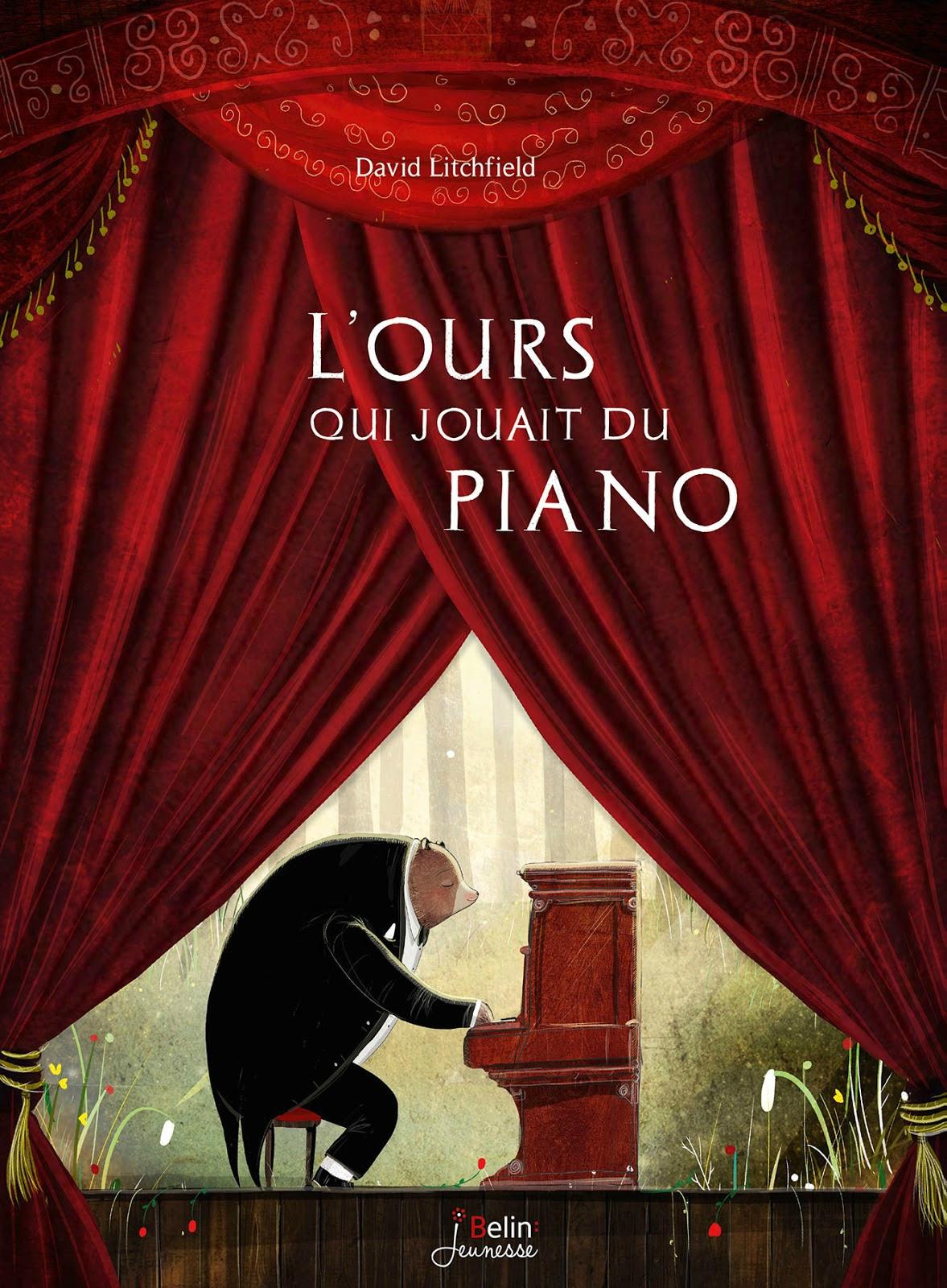 Livre anime mars – l'ours qui jouait du piano