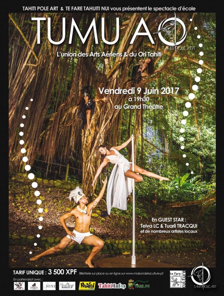 Spectacle de danse – Tumu Ao – Light