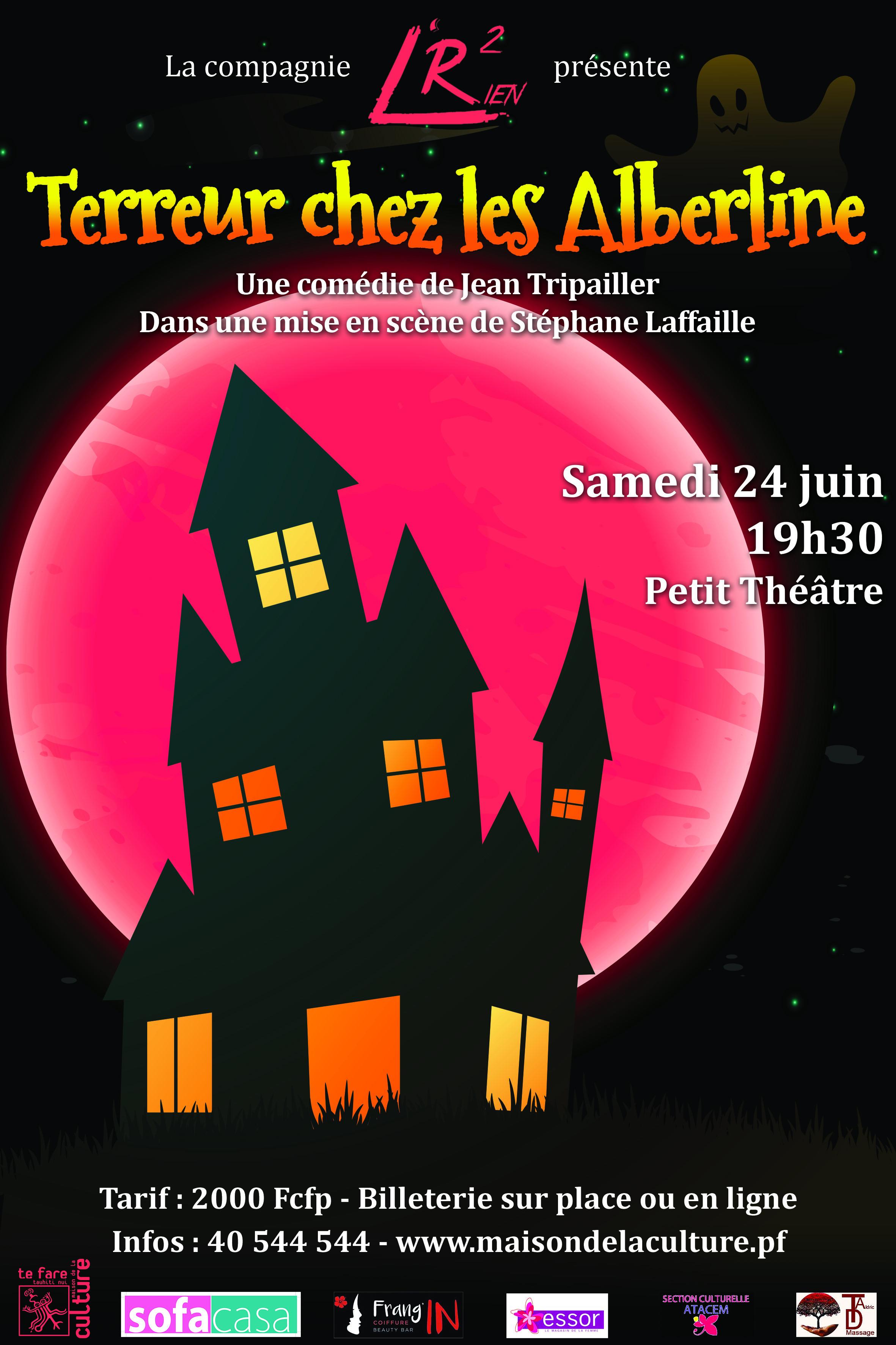 Théâtre – Terreur chez les Alberline