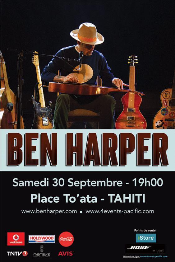 Concert – Ben Harper