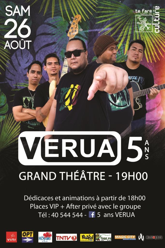 Concert – 5 ans du groupe Verua