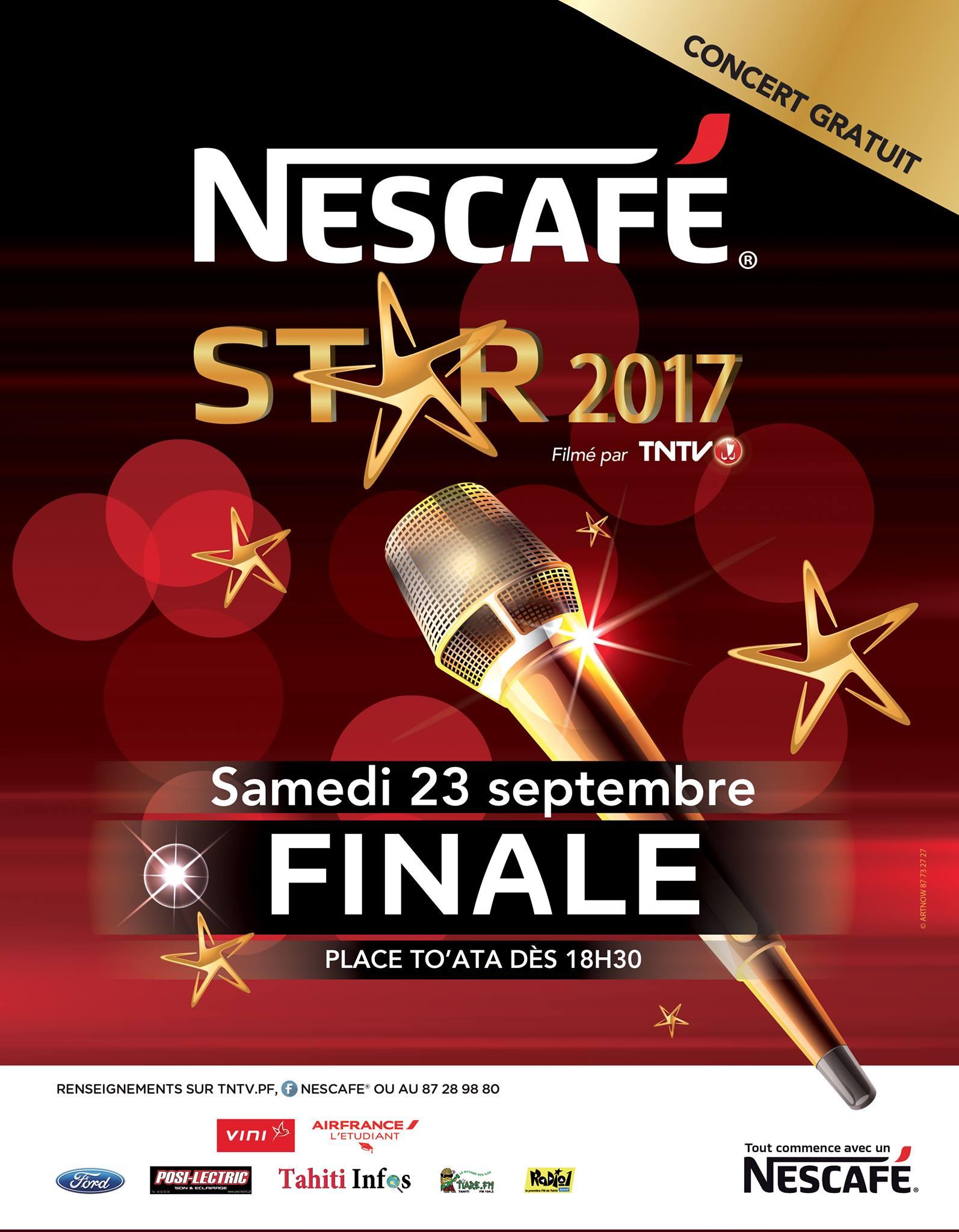 Concert – Nescafé Star Finale