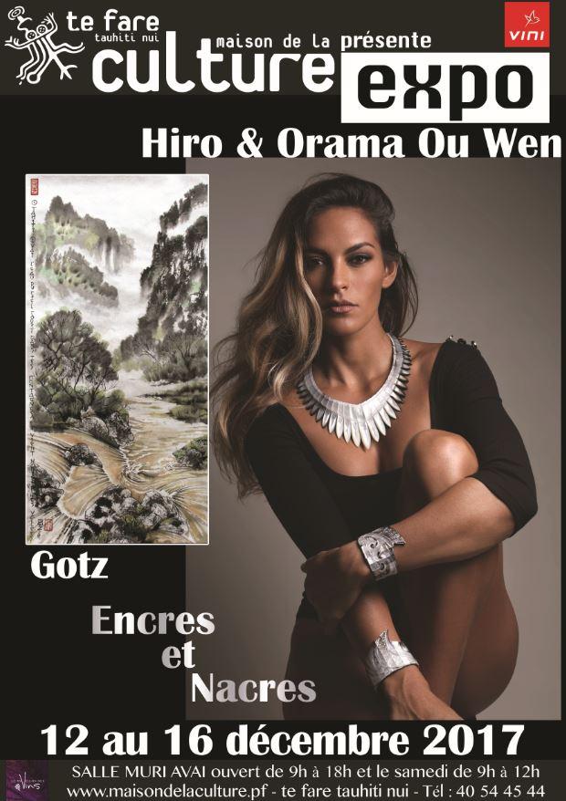 Exposition d'art – Hiro Ouwen & Gotz