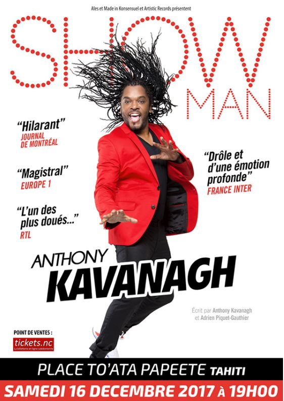 One man show – Anthony Kavanagh