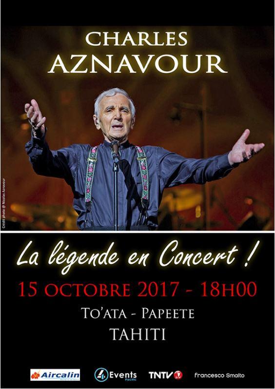 Concert – Charles Aznavour