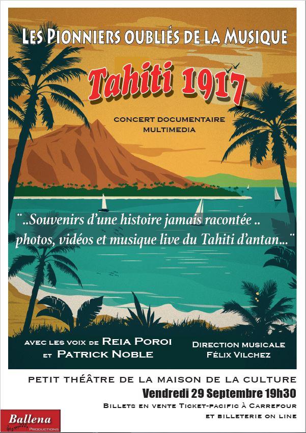 Concert – Tahiti 1917