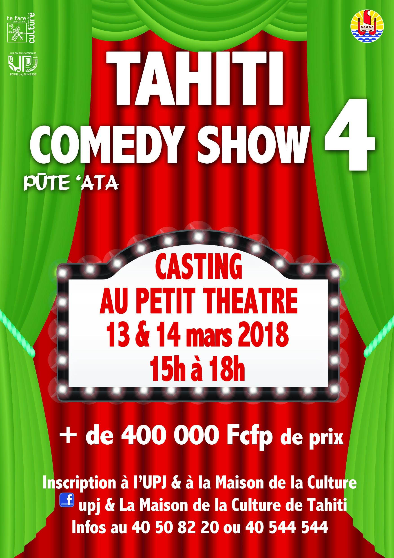 Affiche casting TCS 2018-2