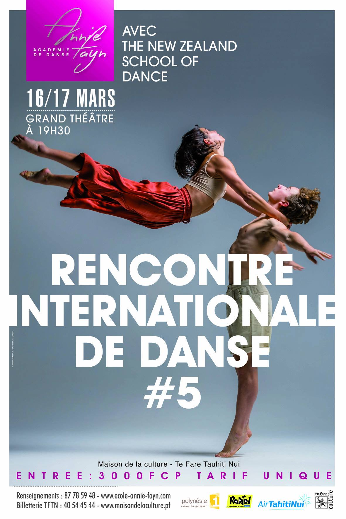 5ème rencontre internationale de danse