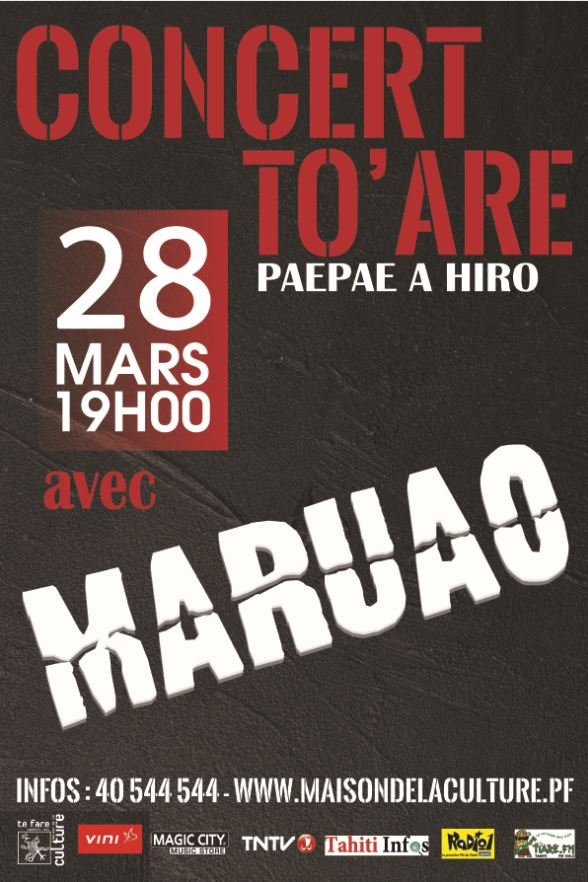 Concert To'are avec Maruao