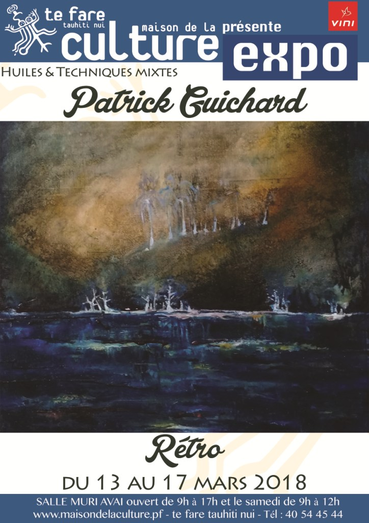 Exposition d'art – Patrick Guichard