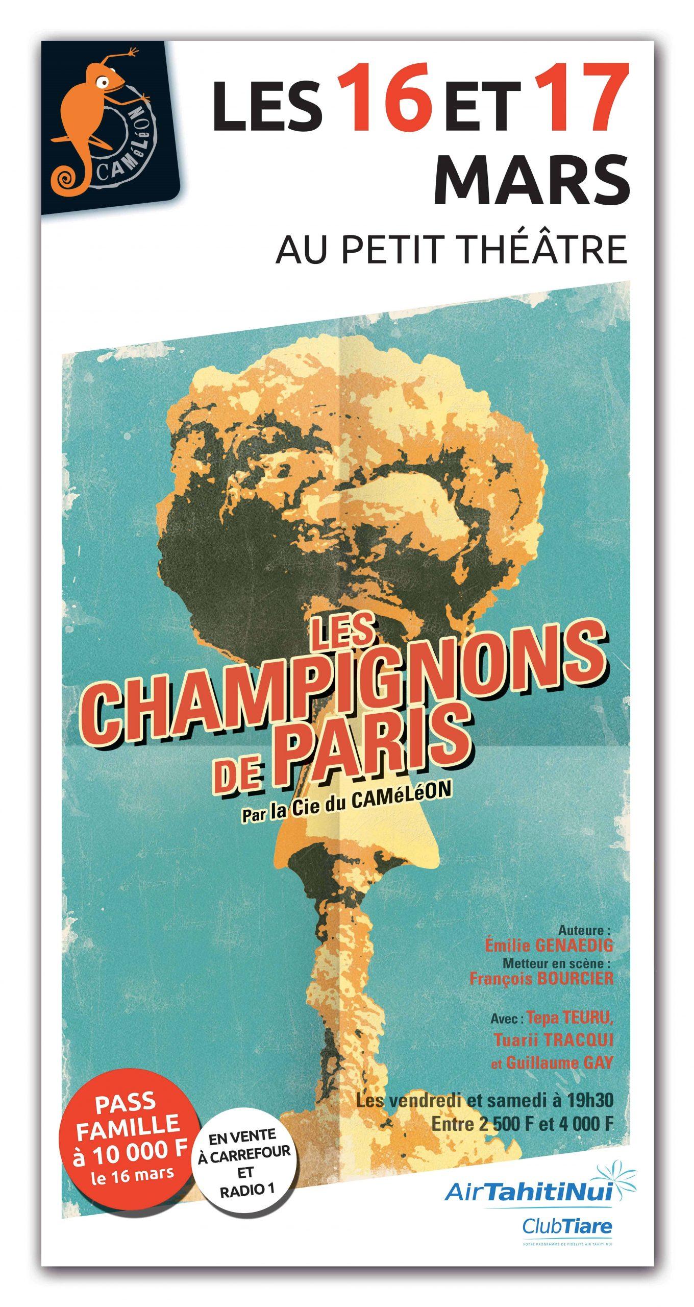 Théâtre – Champignons de Paris