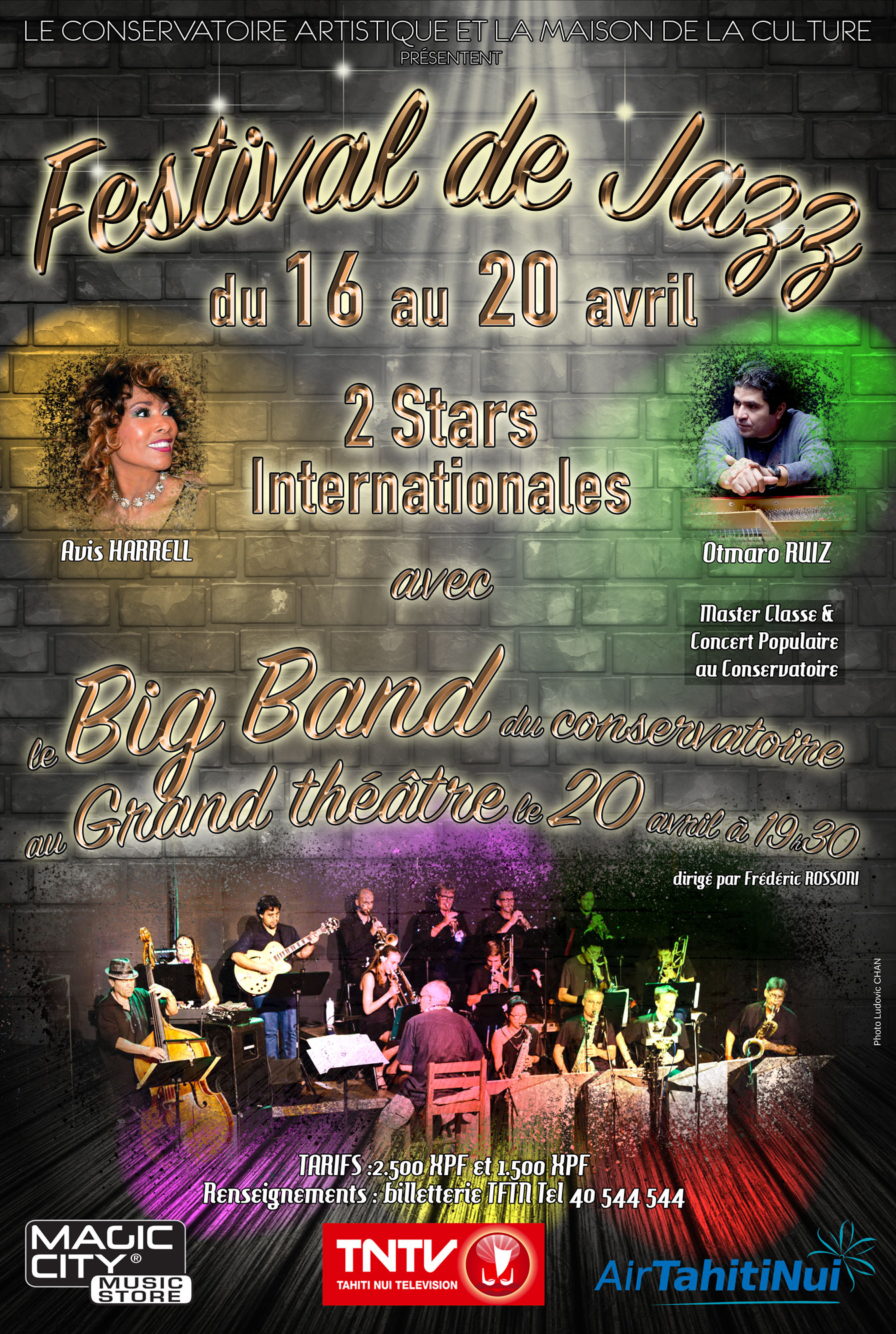 Concert – 1er Festival International de jazz