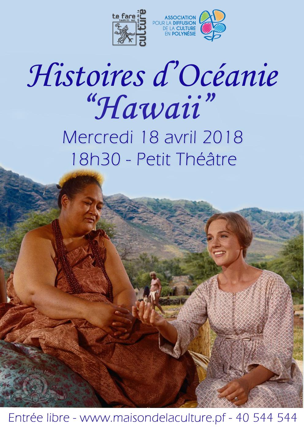 Histoires d'oceanie Hawaii V2