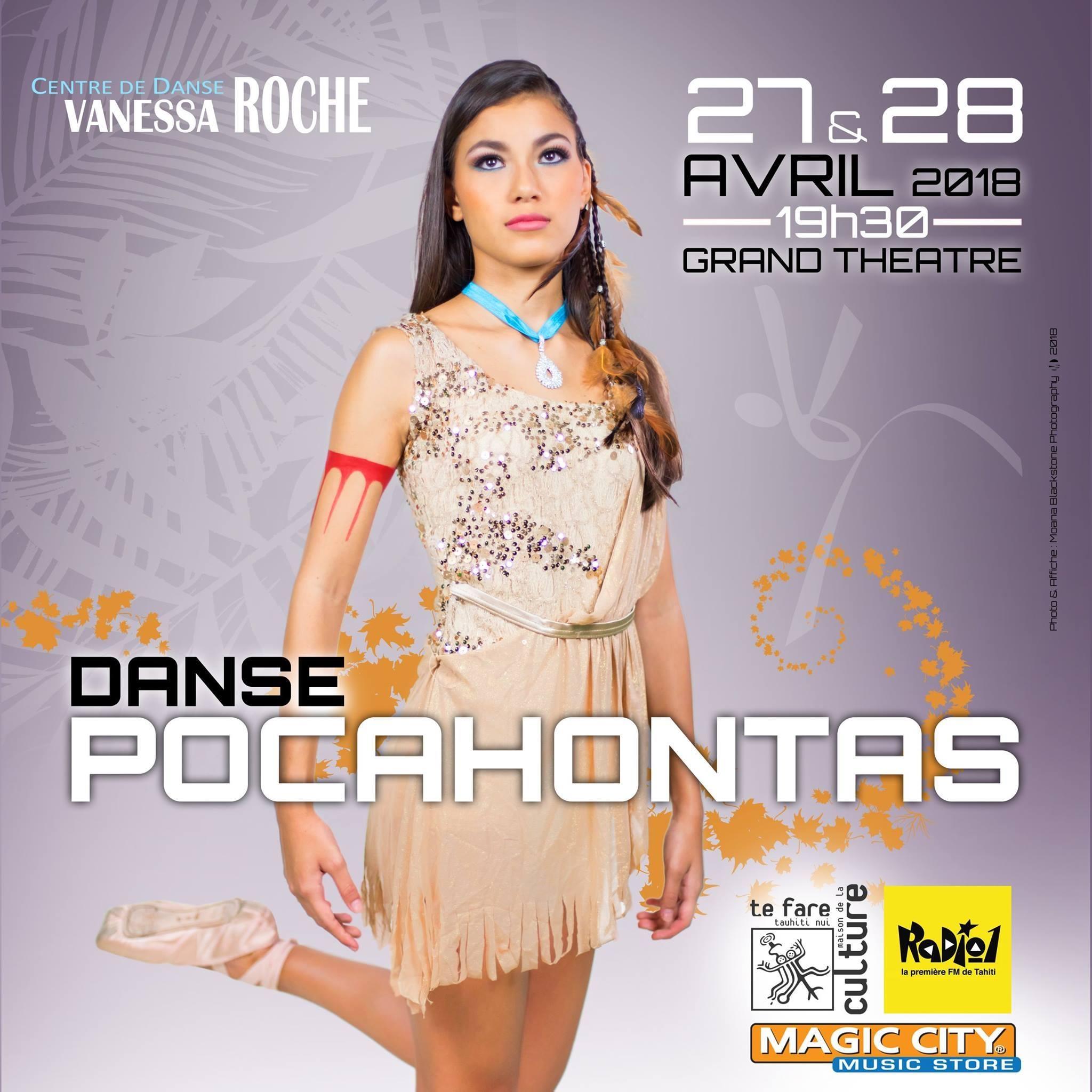 Spectacle de danse – Danse Pocahontas