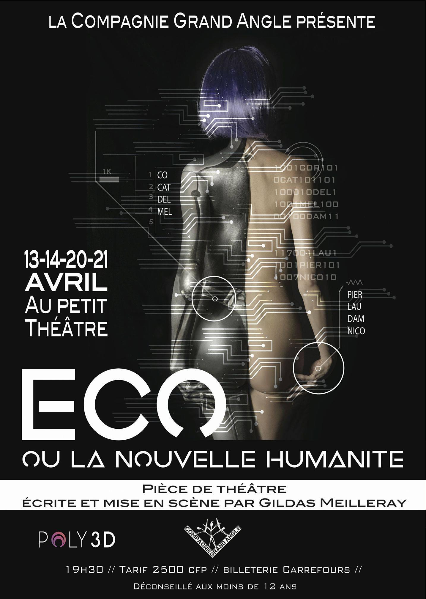 Théâtre – Eco ou la nouvelle humanité