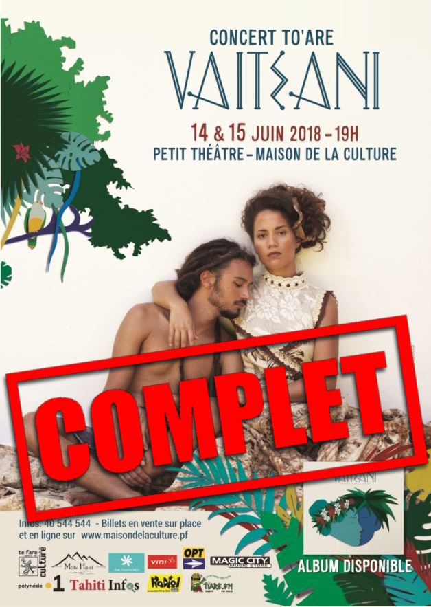 Concert To'are – Vaiteani