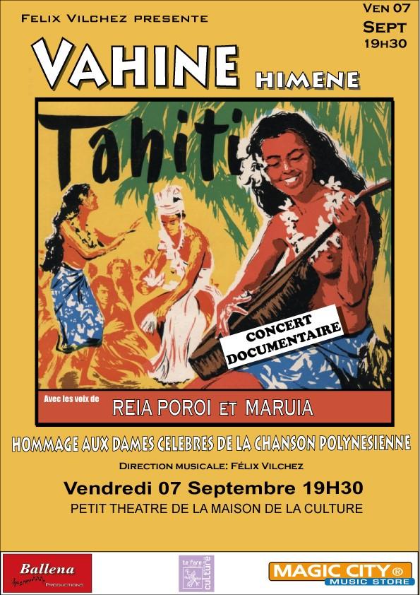Affiche concert Vichez