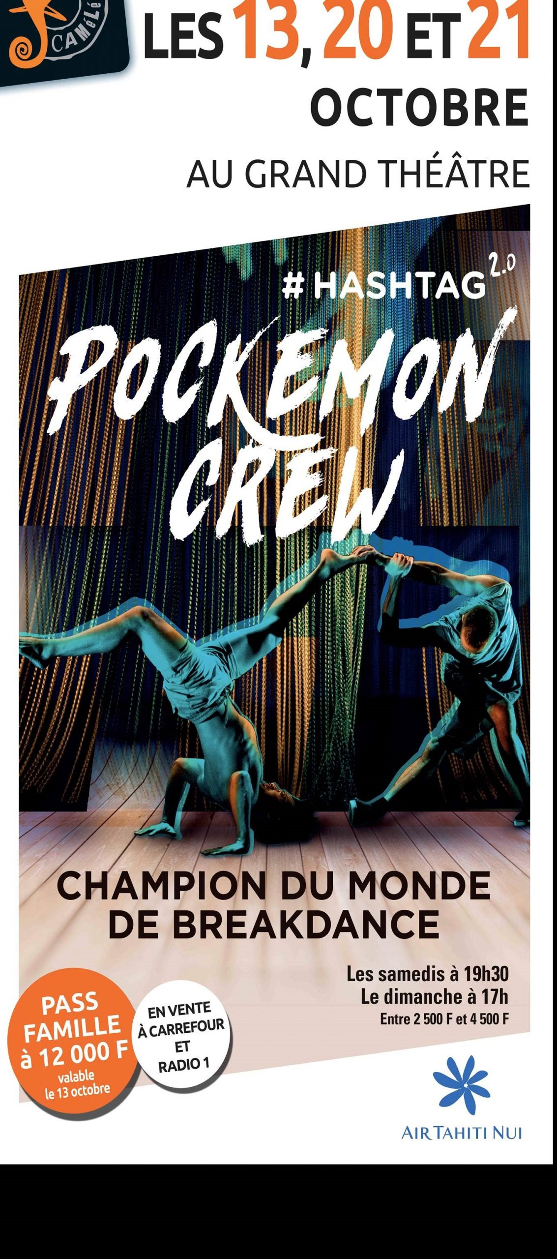 Affiche Danse – Pokemon Crews