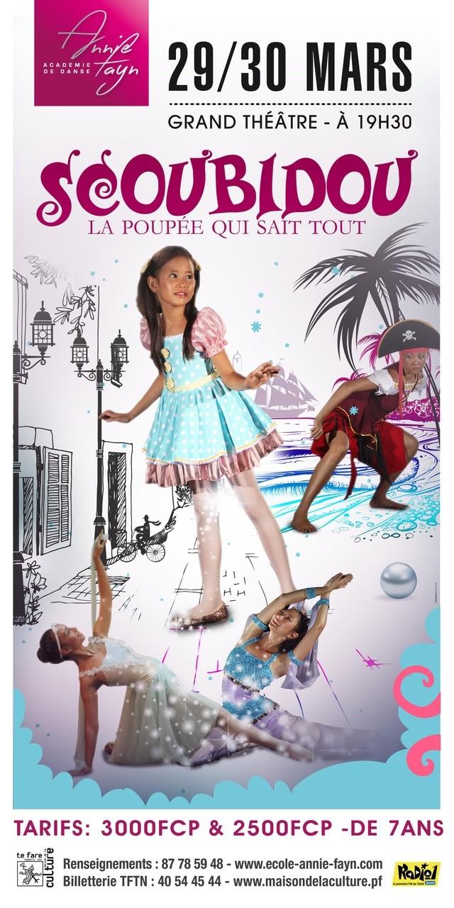 Spectacle de danse – Fayn – Scoubidou la poupée qui sait tout copie