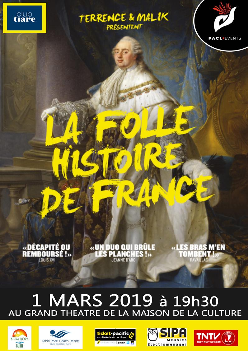 Théâtre – Folle histoire de France – light
