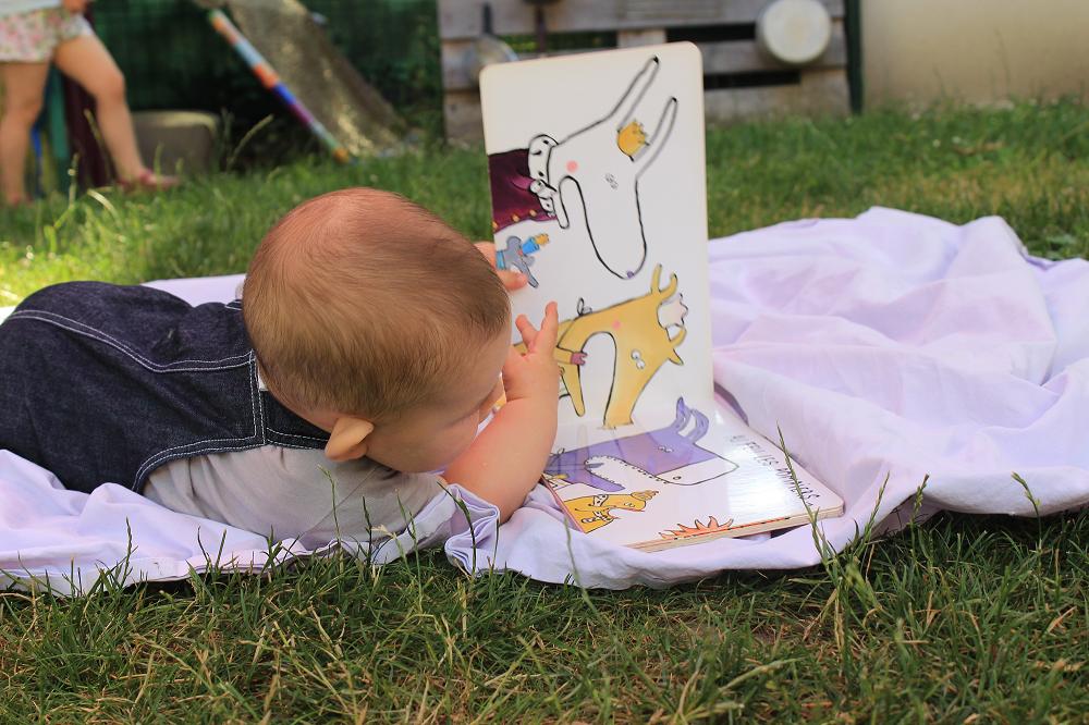 Animation jeunesse – les tout-petits & les livres
