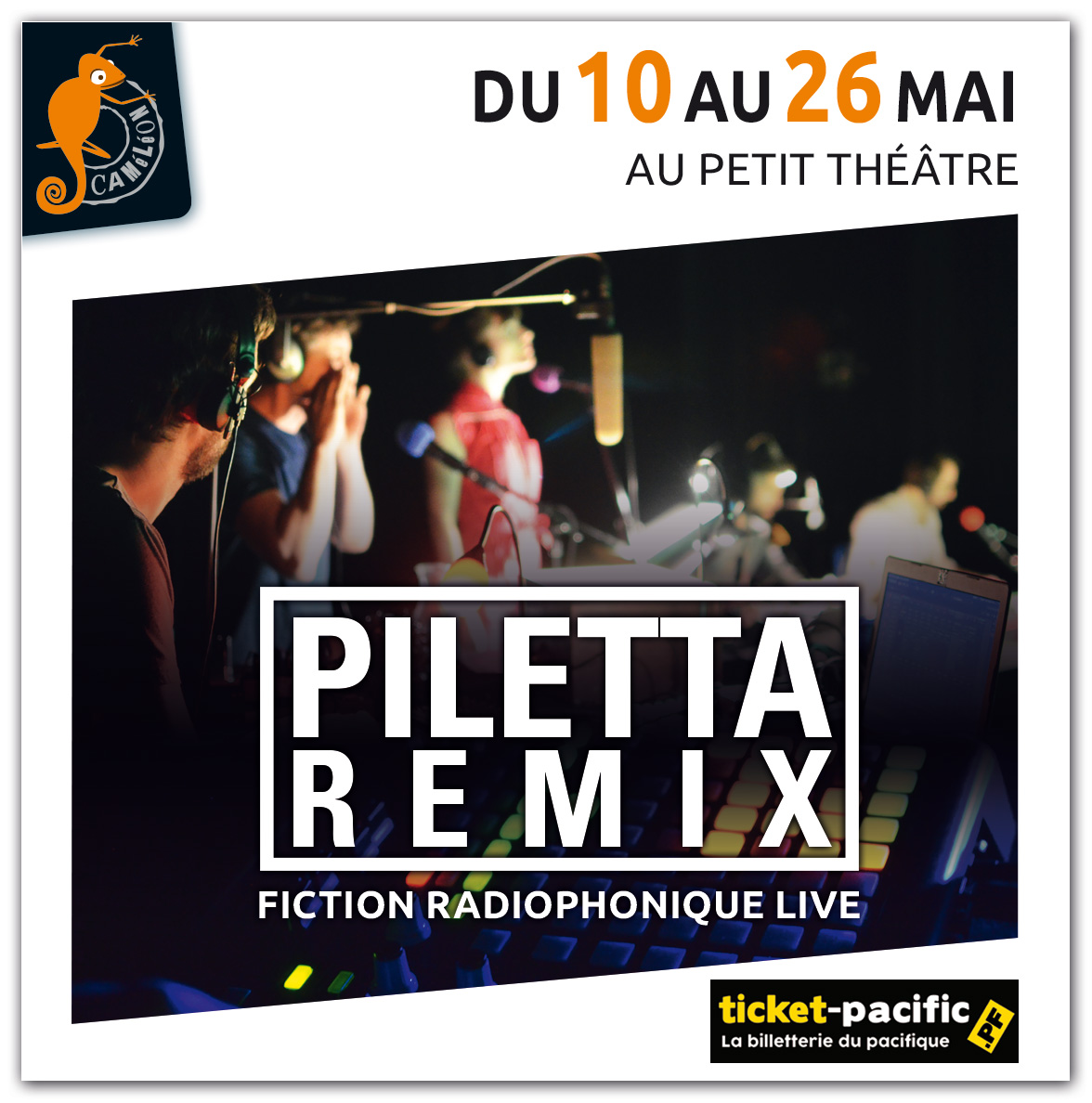 Piletta Remix – Caméléon 1