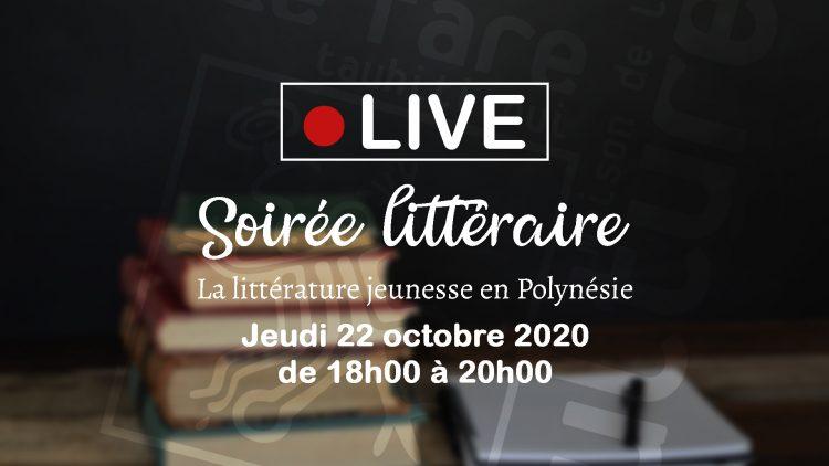 live soirée littéraire 22oct