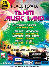 affiche-concert-tahiti-music-land